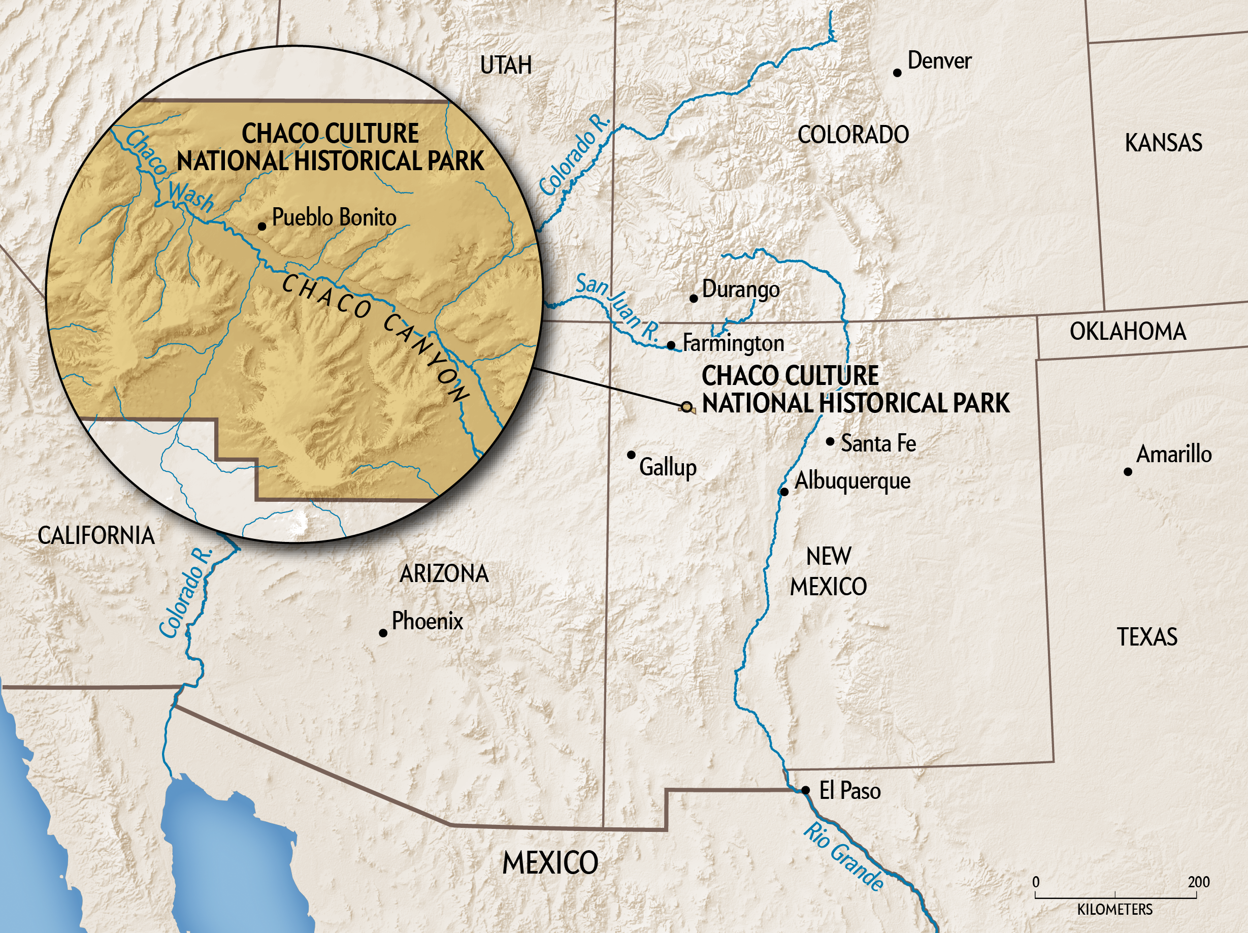 Ancient DNA Yields Unprecedented Insights into Mysterious Chaco Civilization - Scientific American