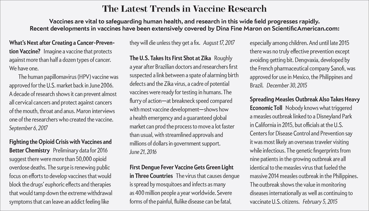 Fact Or Fiction Vaccines Are Dangerous  Scientific American The Process Saves Lives Among Children Born In The Past Two Decades  Vaccinations Will Prevent More Than  Million Hospitalizations And   Deaths