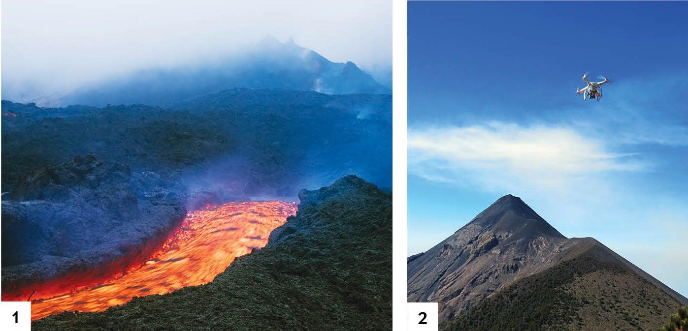Drones Peer inside a Volcano Scientific American