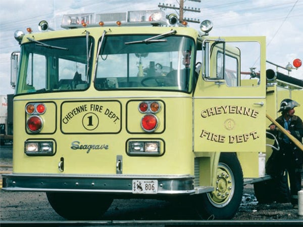 The Most Visible Fire Truck