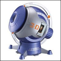 3 D Space Projector with CD