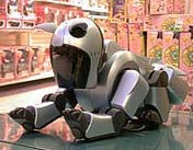 abio robot at toy store