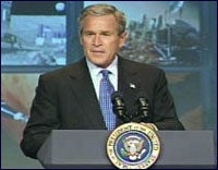 Bush space speech
