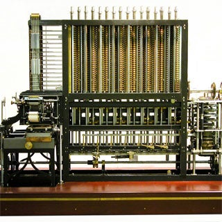 The Difference Engine, a complex mechanical computer, can handle logarithms and trigonometry (Doron Swade)