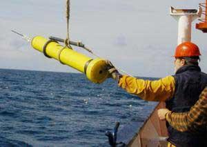 Argo floating robot probe