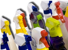 household spray bottles