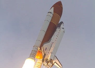 Endeavour launching