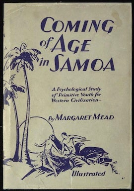 book cover of Coming of Age in Samoa