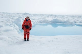 Haley Smith Kingsland in the Arctic