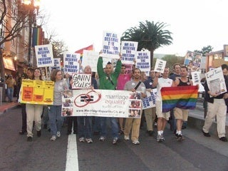 2004 gay-marriage march in San