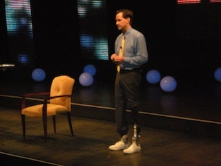 Hugh Herr at Idea Festival