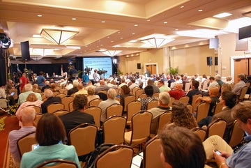 Augustine commission meeting, Florida