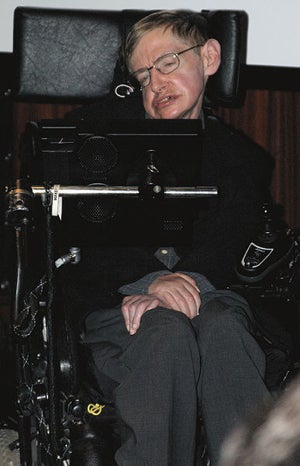 Stephen Hawking, ill, sick, hospitalized, Cambridge
