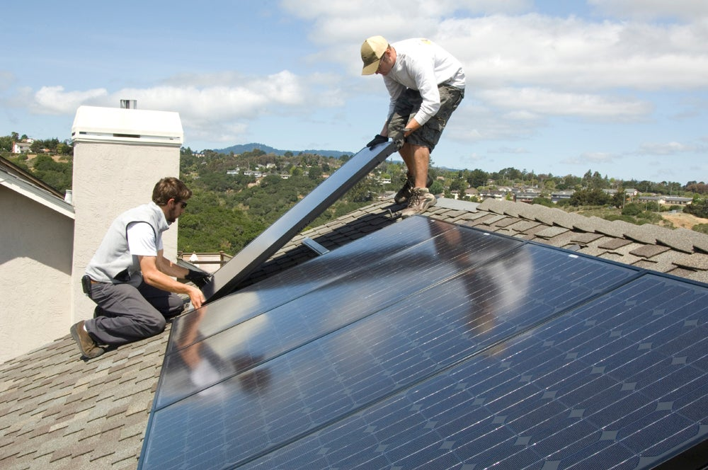 Just last week, I blogged about how the future would bring solar panels with