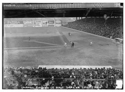 Dodgers and Yankees at Ebbets Field, 1913