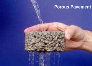EPA, porous pavement