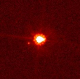 Dwarf planet Eris from HST