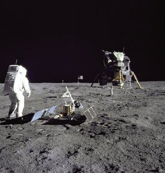Apollo 11, man on the moon, NASA