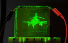 3-d hologram printed on demand