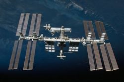 International Space Station (ISS) from space