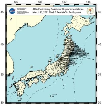 Japan Earthquake The Explainer Scientific American Blog Network - Japan earthquake zone map