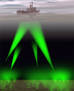 Florida, Harbor Branch, laser,sonar