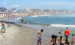 are new jersey beaches full or bacteria?