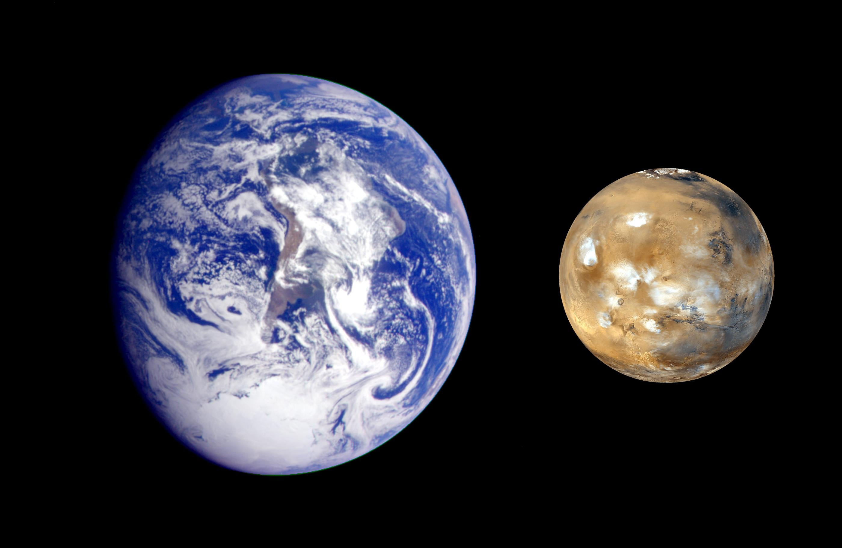 What Would Happen If Earth and Mars Switched Places? - Scientific ...