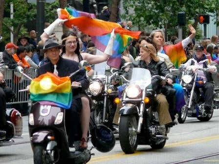 ... and in communities across the country, lesbian, gay, bisexual, ...