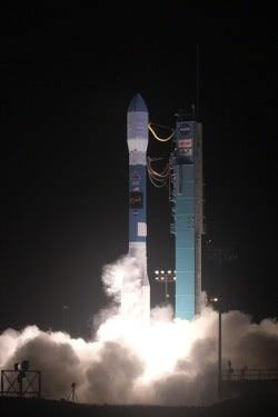 WISE satellite launch from Vandenberg AFB in California