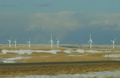 wind power slowing