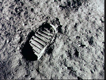 Moon artifacts, history, Apollo program