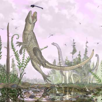 crocodile relative that might have chewed like a mammal