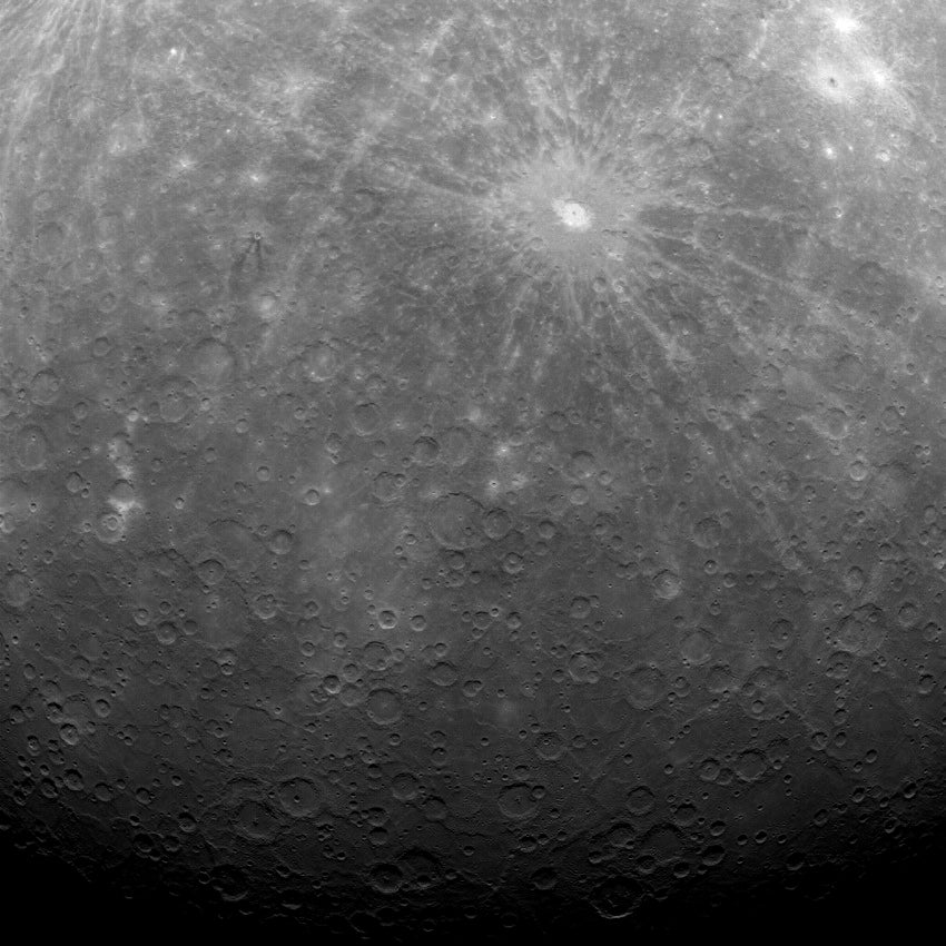 Mercury as seen by NASA's Messenger spacecraft