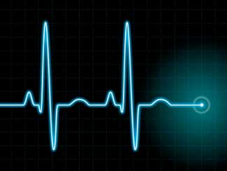 heart rate can be controlled with optic laser