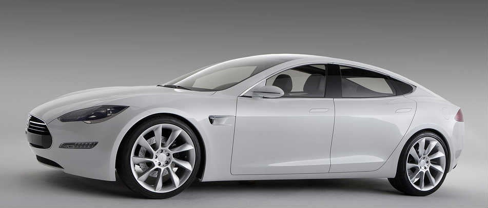 New Model Cars Images eyeful of the new Model S