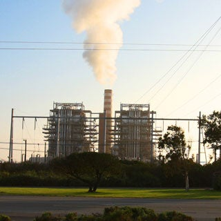 carbon capture and storage power plant