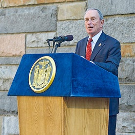 Climate Change, Michael Bloomberg, Election 2012, Campaign Endorsement