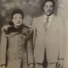 Henrietta Lacks with her husband David.