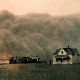dust bowl photo