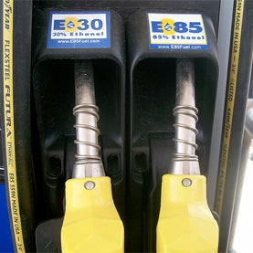 corn, ethanol, lower gas prices
