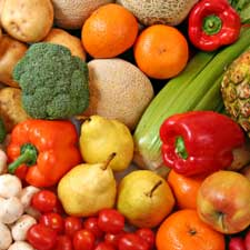 fruits veggies cancer risk health study