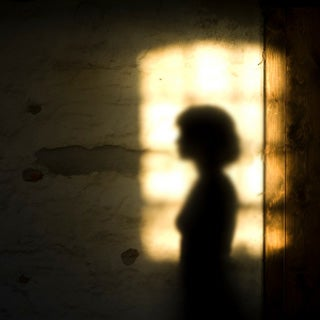 Illusione ottica fantasma ombra periferica