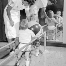 polio-stricken children-exercise-1963