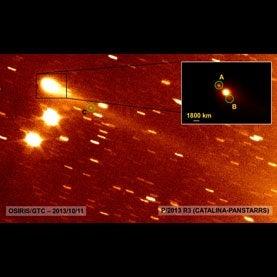Main-belt comet P/2013 R3