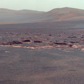 Endeavour Crater on Mars