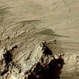 Recurring slope lineae on Mars
