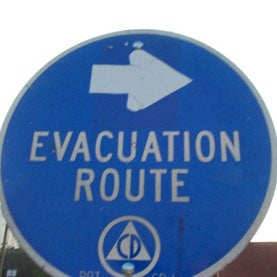 evacuation-route-sign