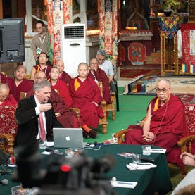 Integral Options Cafe: Christof Koch - Neuroscientists and the Dalai