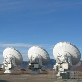 ALMA telescope in Chile